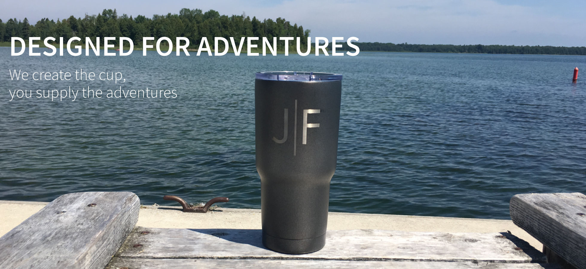 RTIC Powder Coated Tumbler with Engraved Monogram