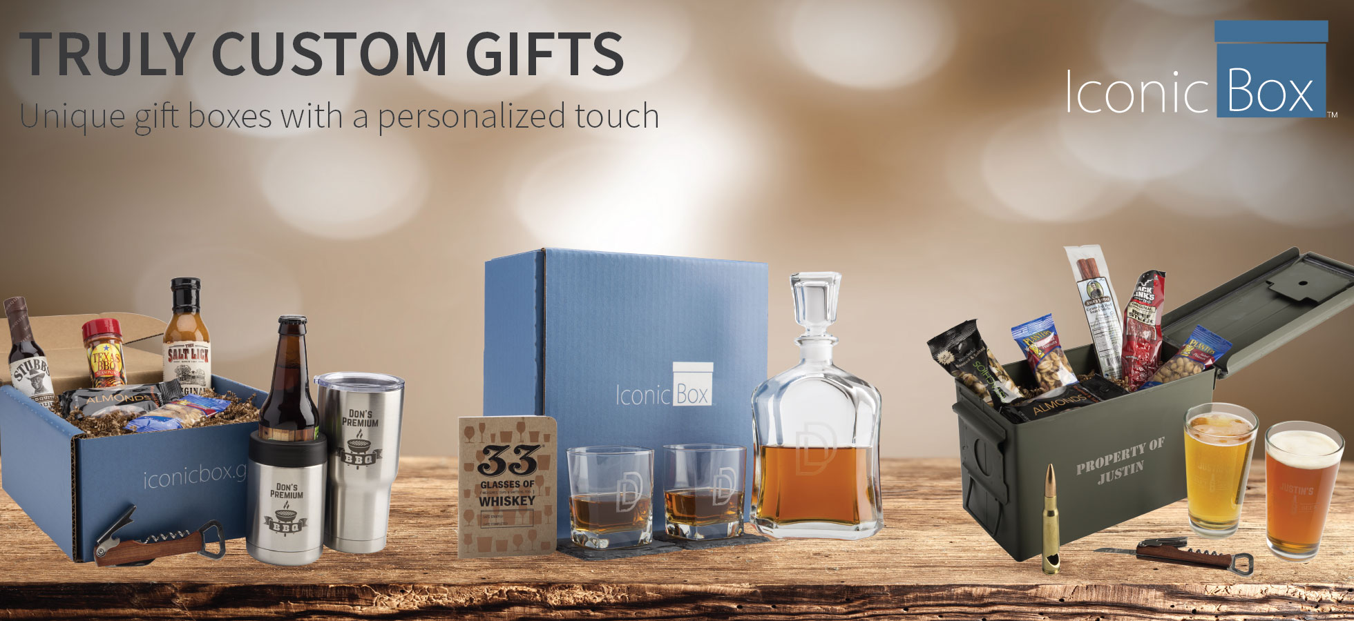 Create Personalized Gift Boxes